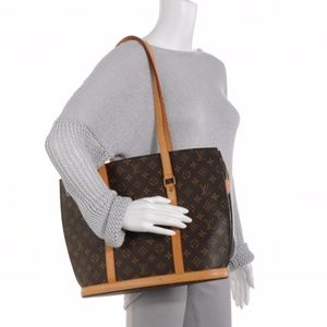 Authentic Louis Vuitton Tote Bag Babylone Browns