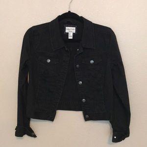 Forever 21 LA+CA Black Denim Jacket
