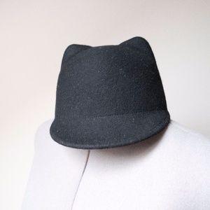 equestrian style zara cat ear hat