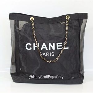 Brand New Authentic Chanel Beauty VIP Mesh Tote