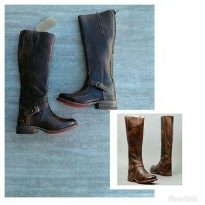 Bed Stu Glaye Teak rustic Boots Size 6