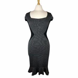 Dorothy Perkins Pencil Sheath Dress Ruffle Hem