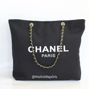 BRAND NEW Authentic Chanel Beauty VIP Canvas Tote