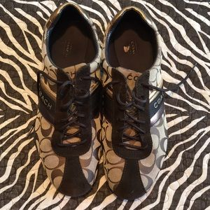 Coach Sneakers Size 10