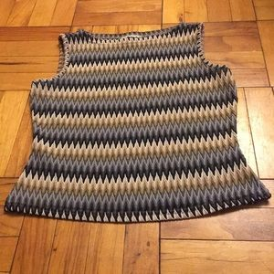 🛍2 for $15🛍 Vintage Woven Tank Top
