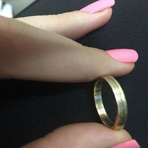 AUTHENTIC CARTIER TRIBAND RING WITH BOX SIZE 51