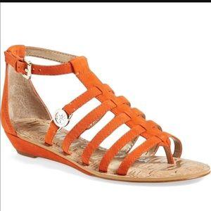 Sam Eldelman Gladiator Suede Sandals