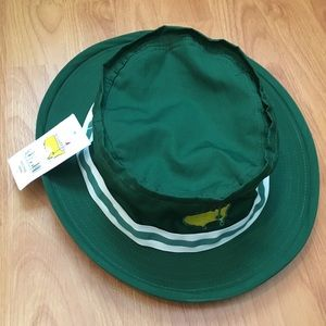 b92e6080c04 PGA Masters Accessories - NWT PGA Master s Green Bucket Hat