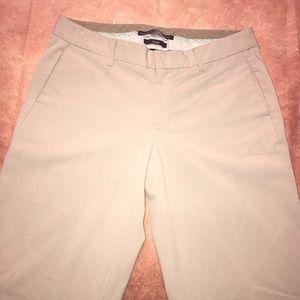 GAP~Gapstretch Wide Leg Trouser Pants~Khaki Tan~4
