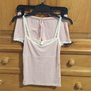 Victoria Secret Pink Stripe Sleepwear Set