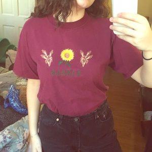 Vintage 90's Kansas Sunflower T-Shirt