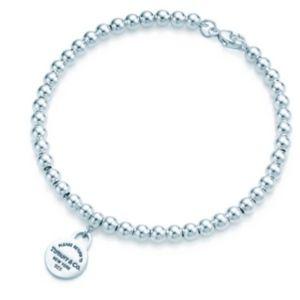 RETURN TO TIFFANY® Bead Bracelet (Circle charm)