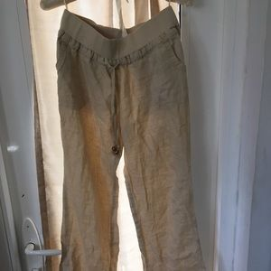 Beach flowy pants