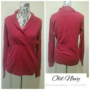 Gorgeous Old Navy Cranberry Sweater