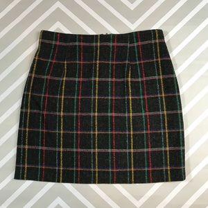COMING SOON Vintage Express plaid wool skirt