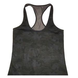 Lululemon Savasana Camo Racerback Yoga Tank Top Sm