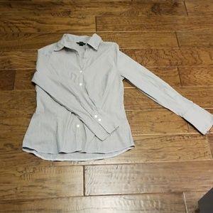 Fine pinstripe dress shirt