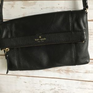 Black Kate Spade mini crossbody bag