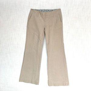 Gap Khaki Pin Stripe Pants, 4R