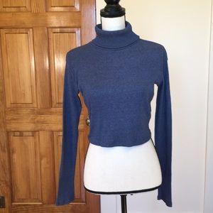 Zara turtleneck crop top sweater 💕