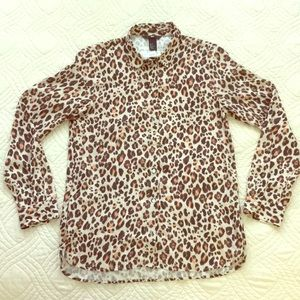 Leopard / Cheetah Print Blouse