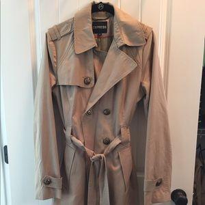 Khaki Express trench coat