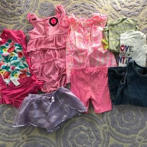 Other - Toddler Girl Summer Clothes Lot