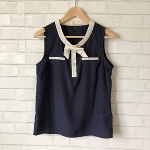 Anthropologie Bow Blouse