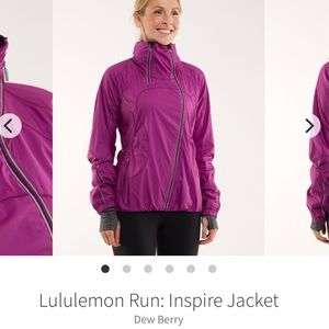 lululemon athletica Run Inspire Jacket