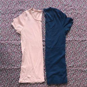 🆕 BUNDLE of 2 JCrew Perfect Fit crew t-shirts