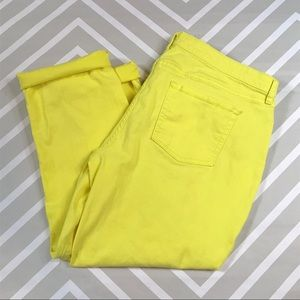 COMING SOON Gap yellow jeans
