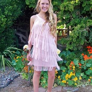 Roaring 20s Gatsby Fringed Dress
