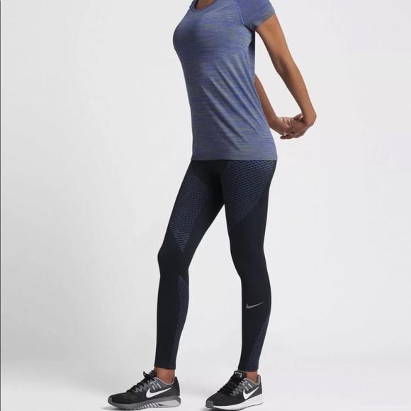 fcf1c30fc72920 Nike Pants | Zonal Strength Wmns Printed Running Tights | Poshmark