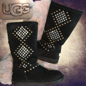 UGG Two toned bling boots