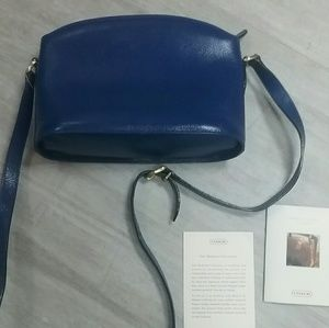 Coach Madison cobalt blue crossover never used