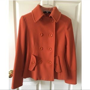 Cashmere Blend Coat Size Small