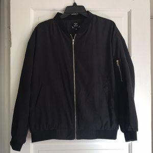 black bomber jacket 💥