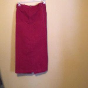 Dresses & Skirts - Bridgewater Studio burgundy skirt