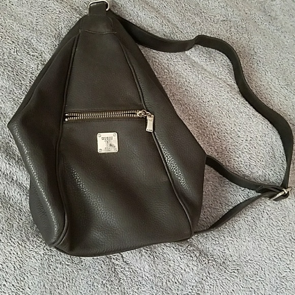 Guess Handbags -  Final price  Guess vintage triangle backpack b425a1a5d7