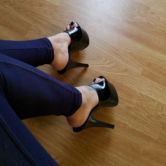 33c239567ccd Pleaser pole dancer platform shoes black. M 5a2c10e32599fe7bbd00c421