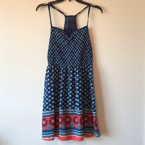 Patterned summery dress
