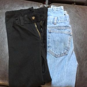 Other - Black dress pants and jeans