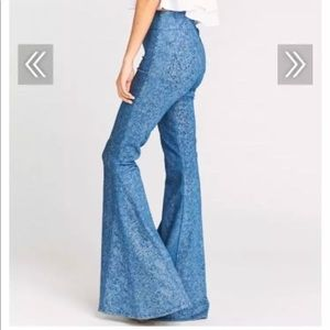 Show me your mumu extra large bell bottoms size XS