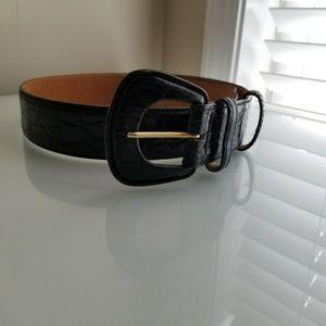 Harold's Crocodile Leather Belt