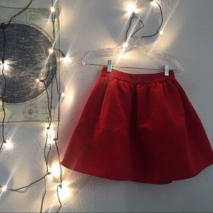 express red skirt