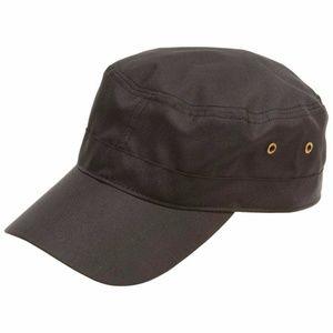 Casual Black Cap Trucker