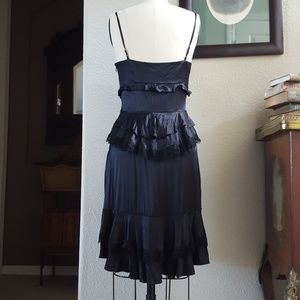 Vintage Betsey Johnson Silk & Lace Slip Dress