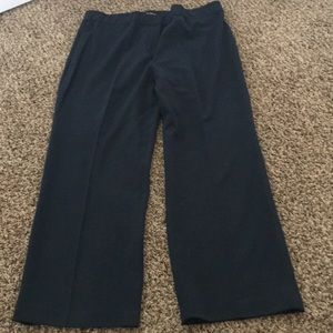 Larry Levine Navy Work Pants 16ws