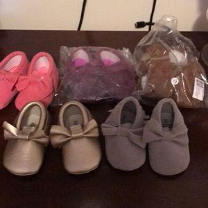 Other - Baby girl moccasin bundle