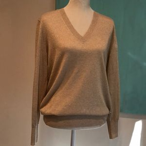NWOT Gap Metallic Sweater